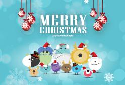濰視眼科2018祝大家聖誕快樂
